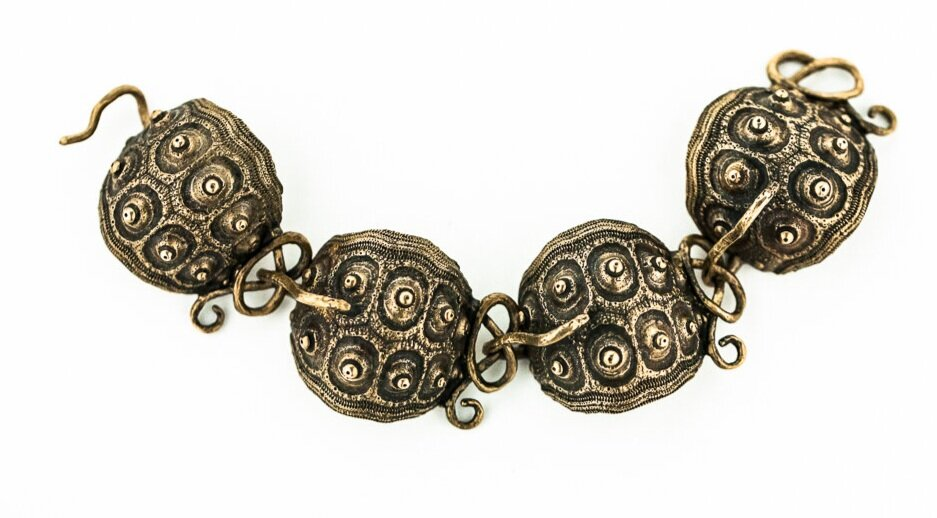 Sputnik Sea Urchin Bracelet- Bronze