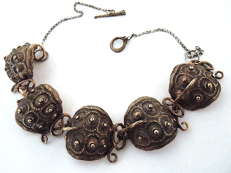 SPUTNIK URCHIN NECKLACE- Bronze N/OC1B
