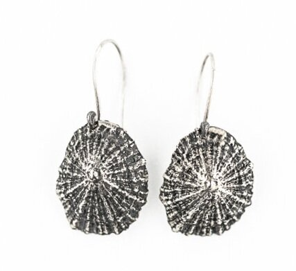 Limpet Earrings- Sterling Silver