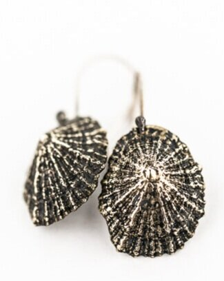 Limpet Shell Earrings- Bronze