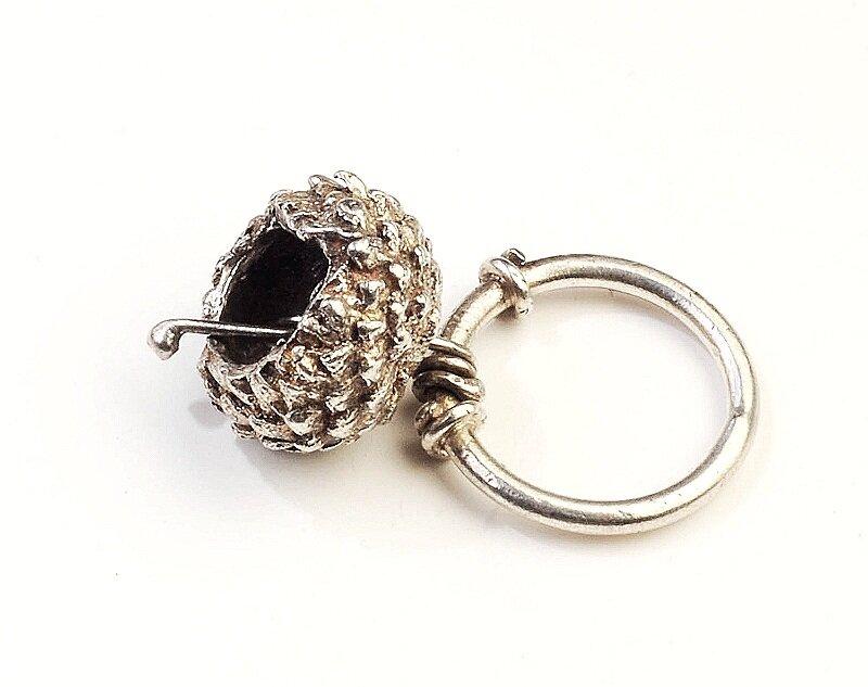 Bud Bell Pendant/ Ring R/EN2