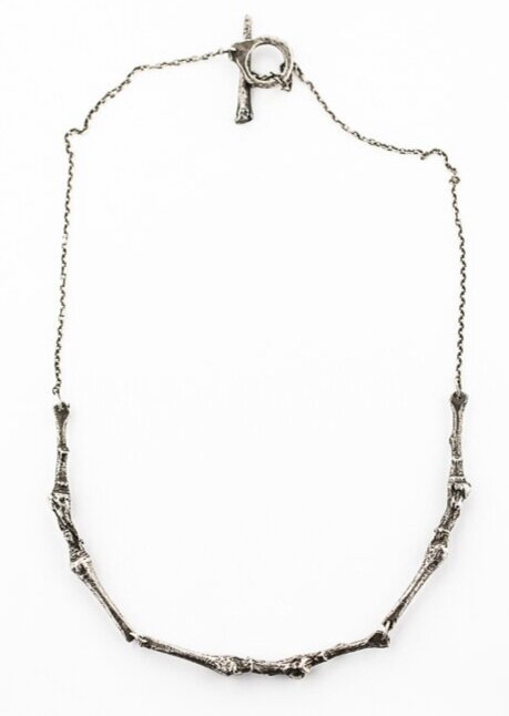 BRANCH COLLAR NECKLACE- STERLING