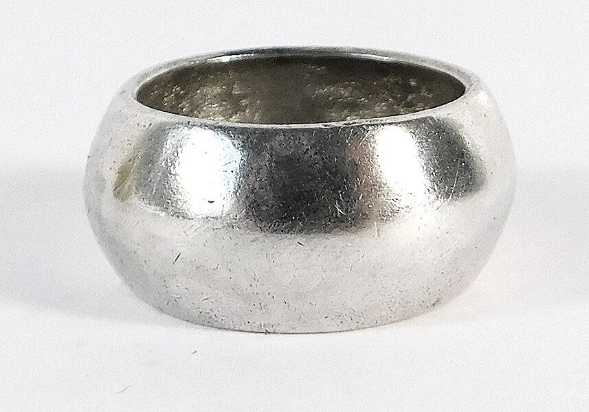 Round Ring- Sterling Silver