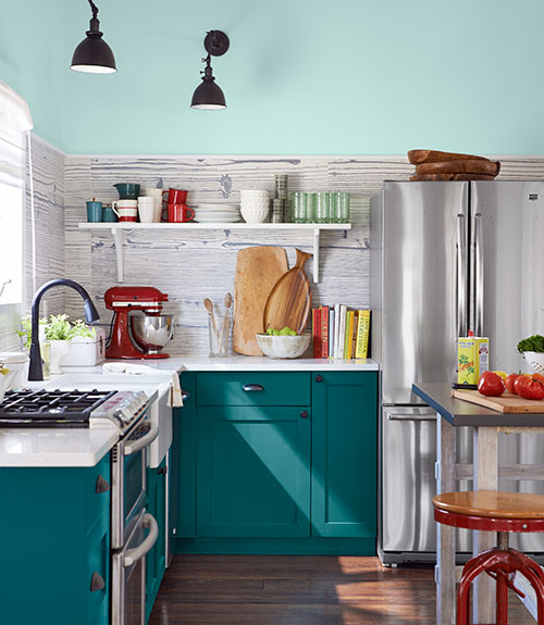 Kitchen via Style by Emily Henderson