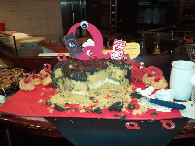 Local iQ Magazine 5th Anniversary Cake by Steven J. Westman