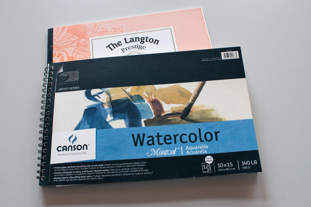 Watercolor paper...