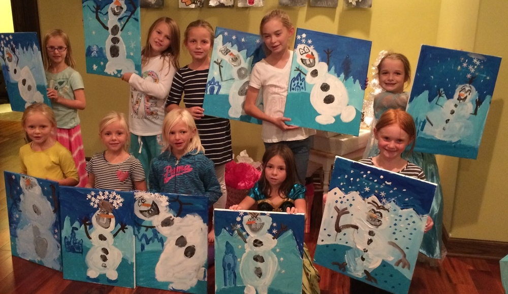 Frozen Snowman Birthday Theme