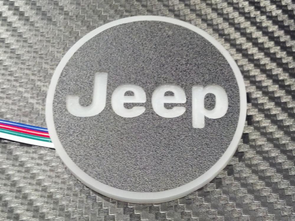 New style LED logo ring