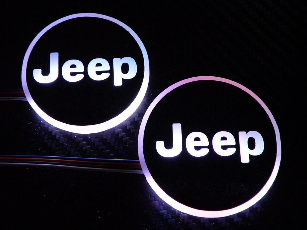 wkxk rgb led jeep logo ring � jeepcore