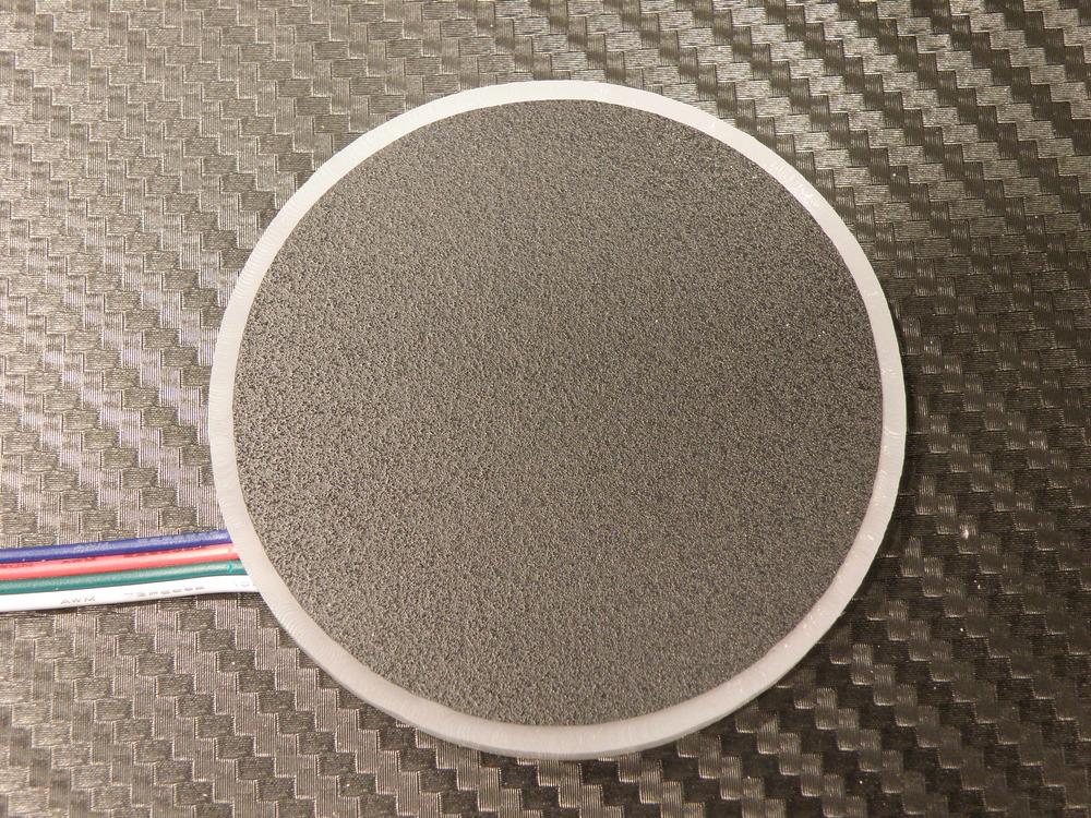 LED disk after assembly