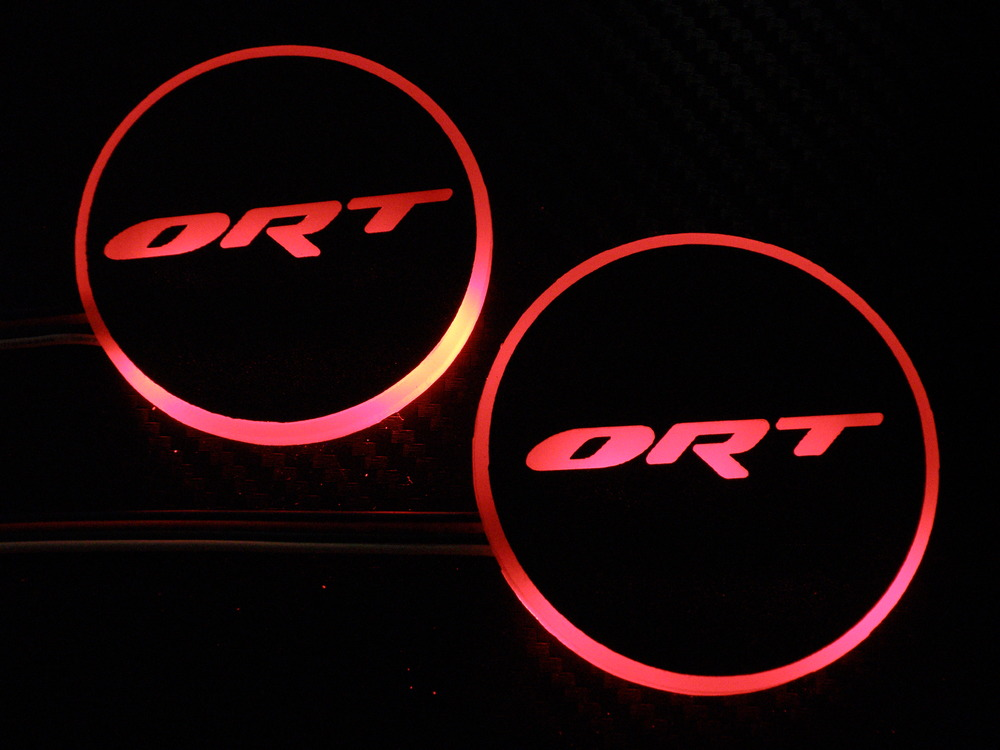 LED lighted ORT logo ring