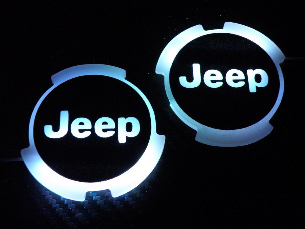 Jeep TJ logo rings.