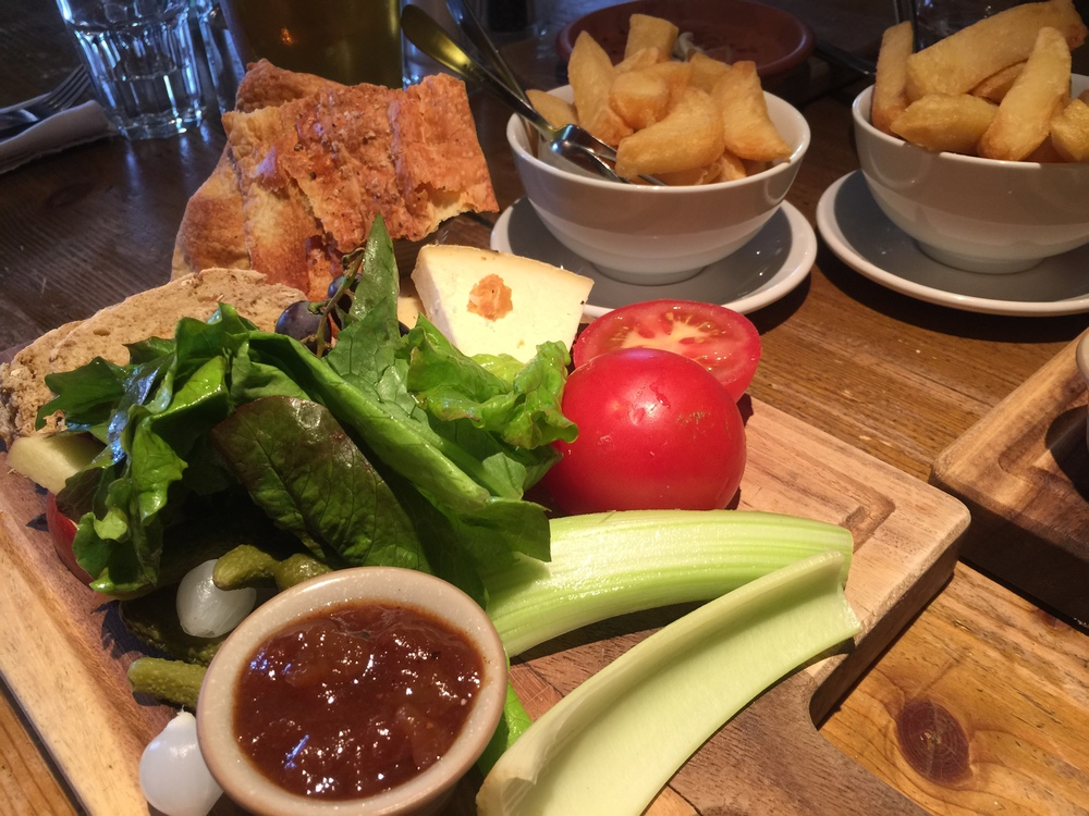The Ploughman's plate