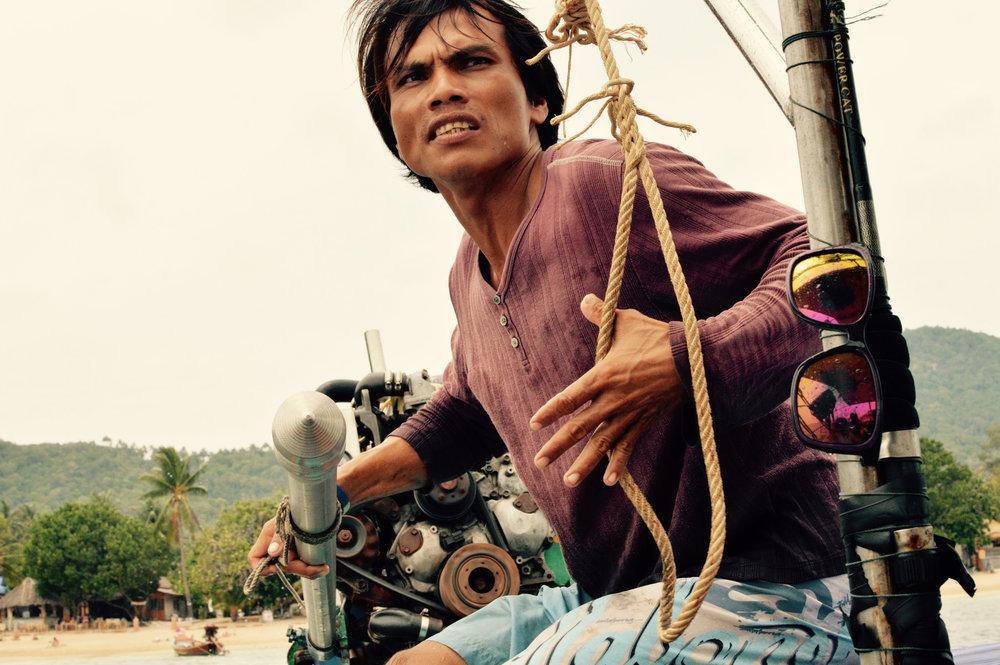 Boat Taxi Driver - Koh Tao, Thailand