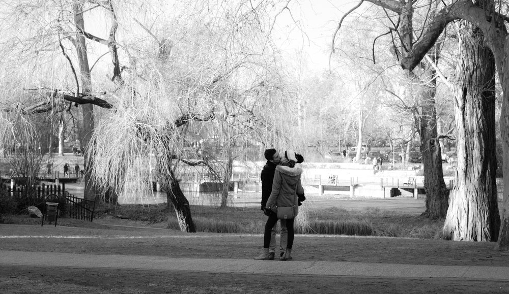 Lovers in Budapest - Budapest, Hungary