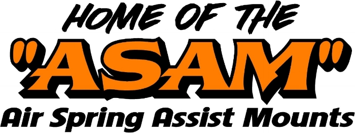 Home of the ASAM (Air Spring Assist Mounts)