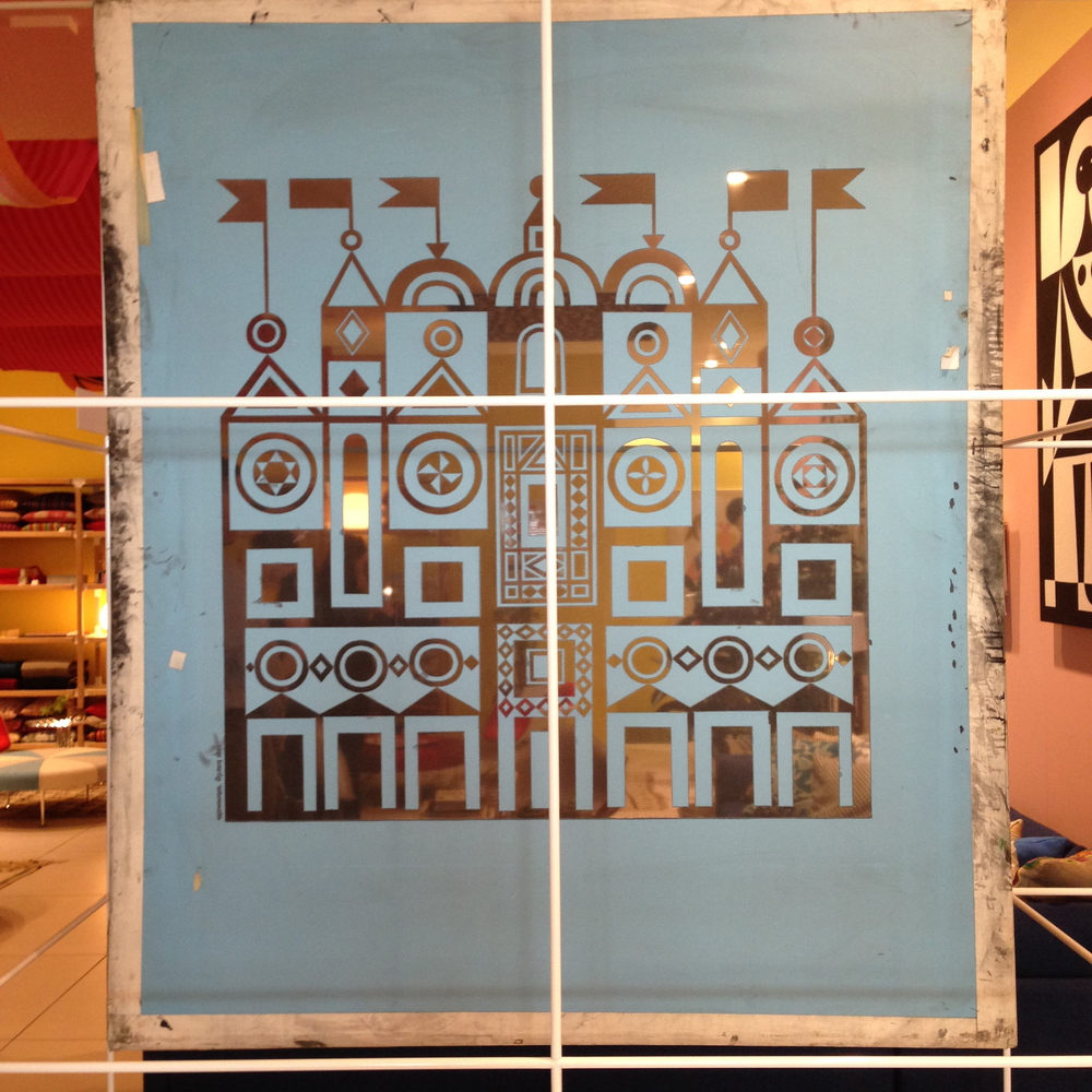 An original Girard silkscreen