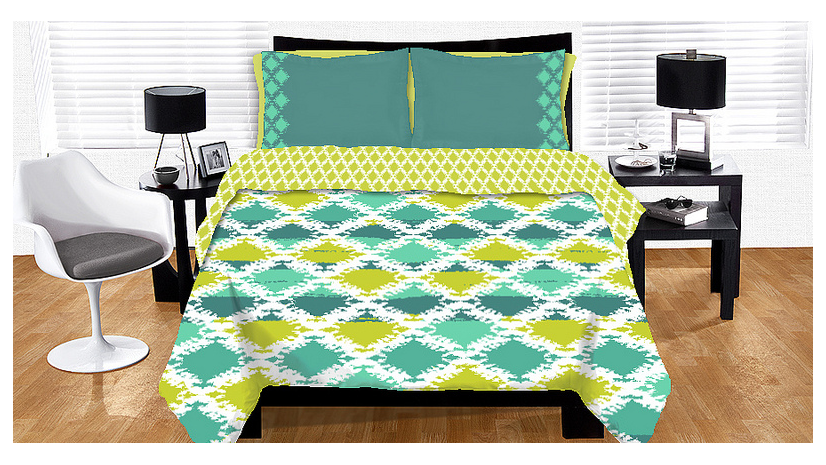 Ange Yake - Custom Surface Design - Submissions - Threadless - Bedding - Seafoam Surf.png