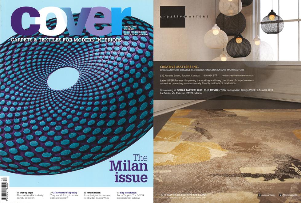 Cover Magazine Spring 2013.