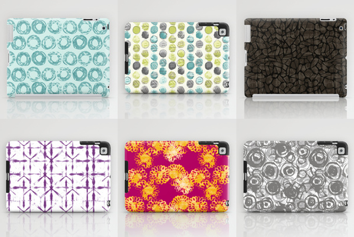 IPad Skins.  Available at: http://society6.com/AngeYake/laptop-skins