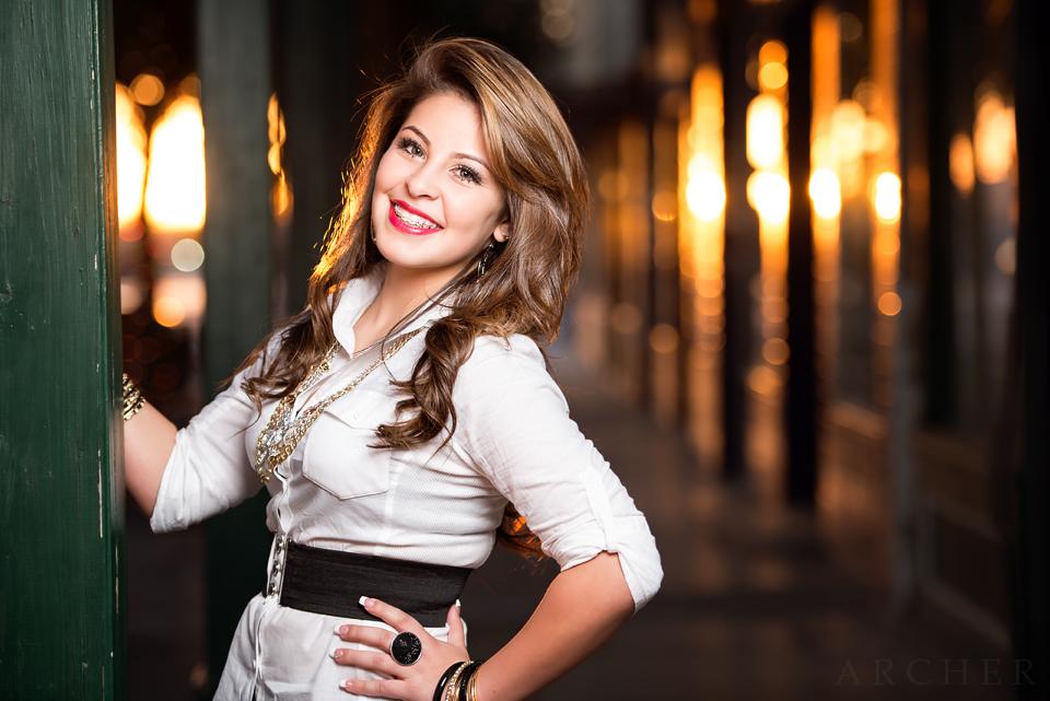 In the Portrait: Brittany Perez