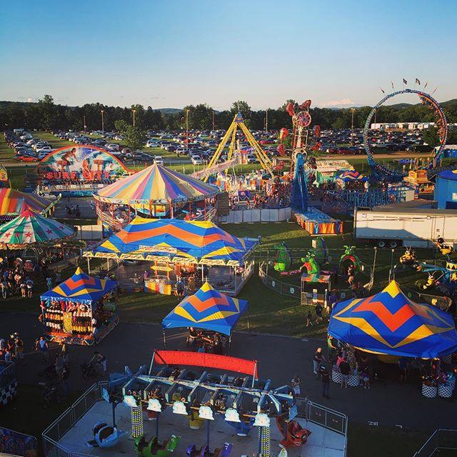 A day at the fair.