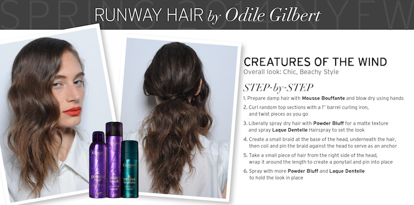 Runway Hair by Odile Gilbert