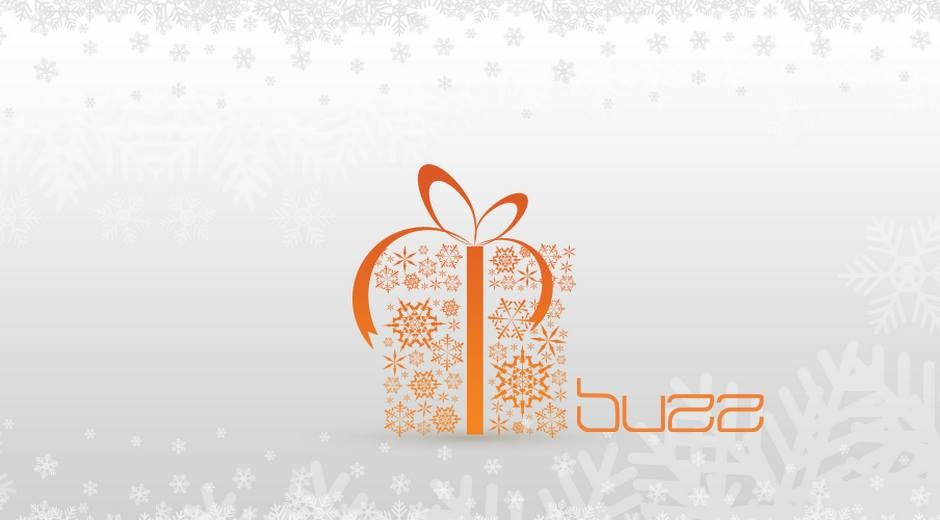 Happy Holidays from Buzz Salon, Iowa City, Iowa