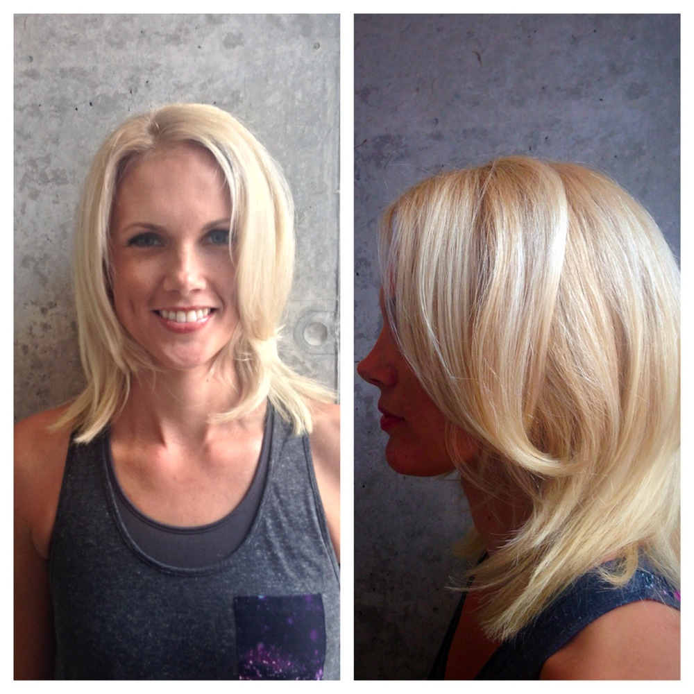 Color Correction From Brassy To Resplendent Blonde By Sean