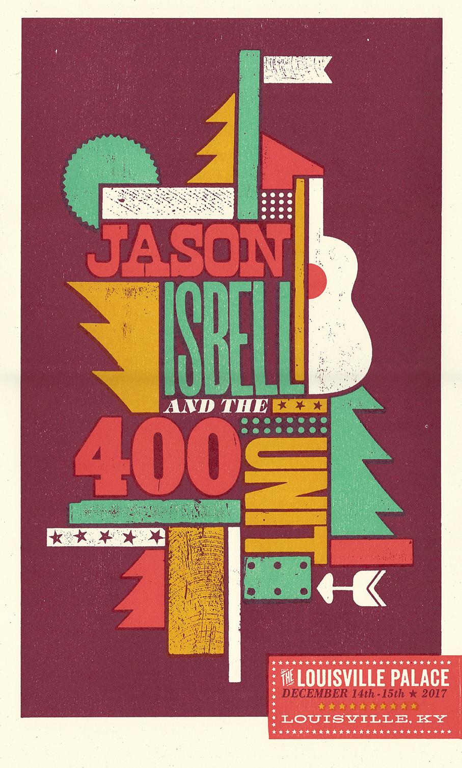Jason Isbell (Louisville) Show Poster