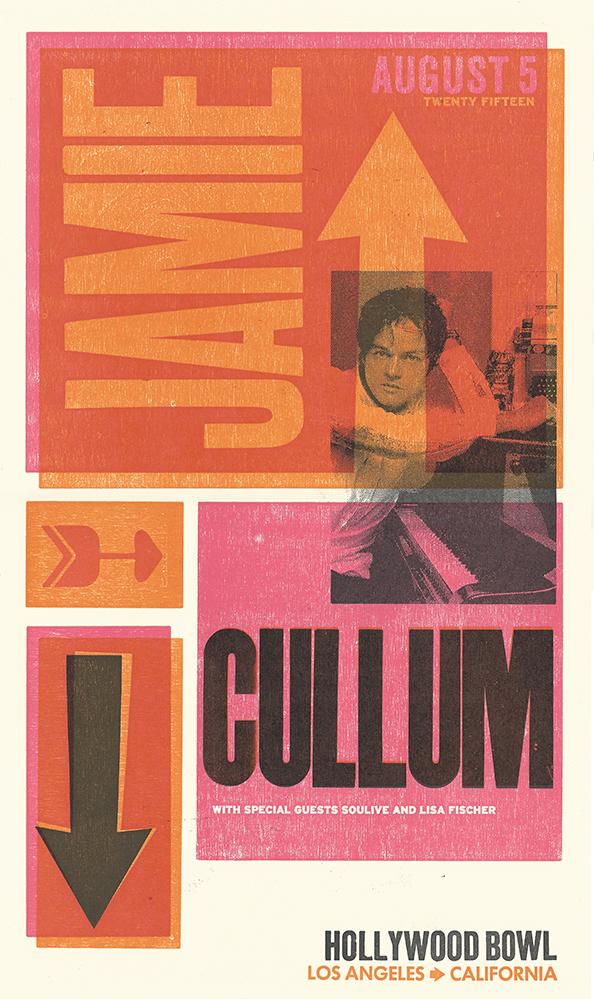 Jamie Cullum Show Poster