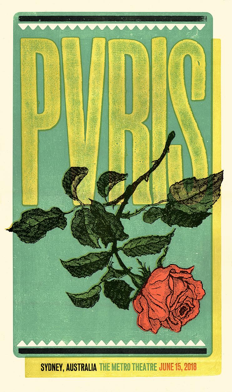 PVRIS (Sydney) Show Poster