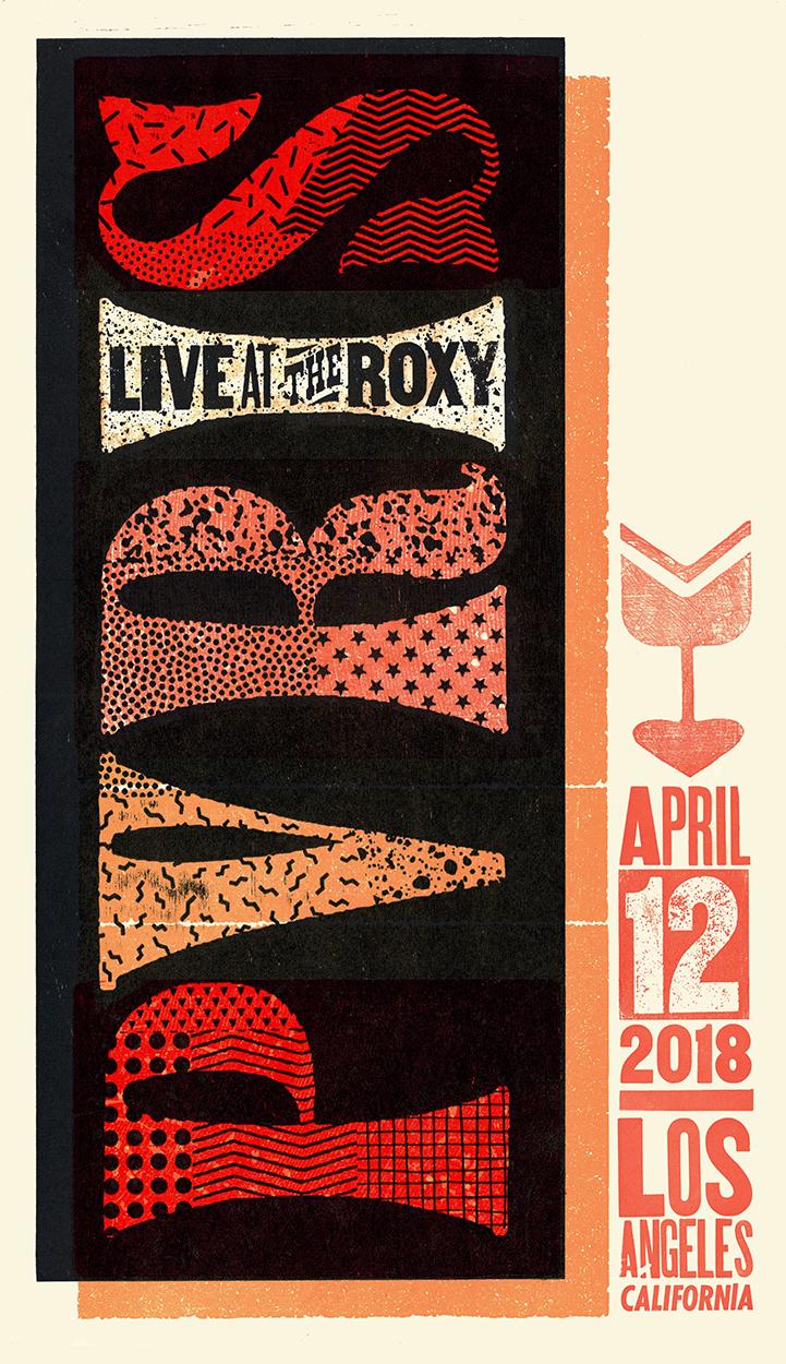PVRIS (Roxy) Show Poster