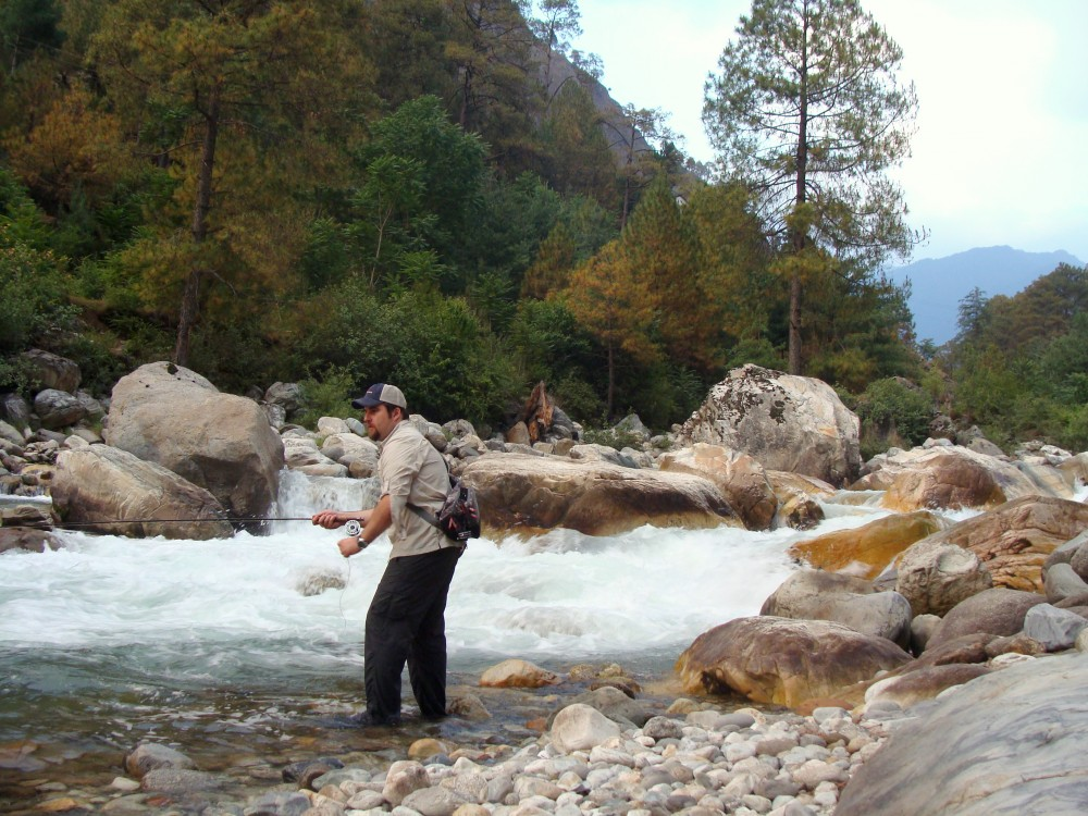 Trout Fly Angling with Himalayan Outfitter
