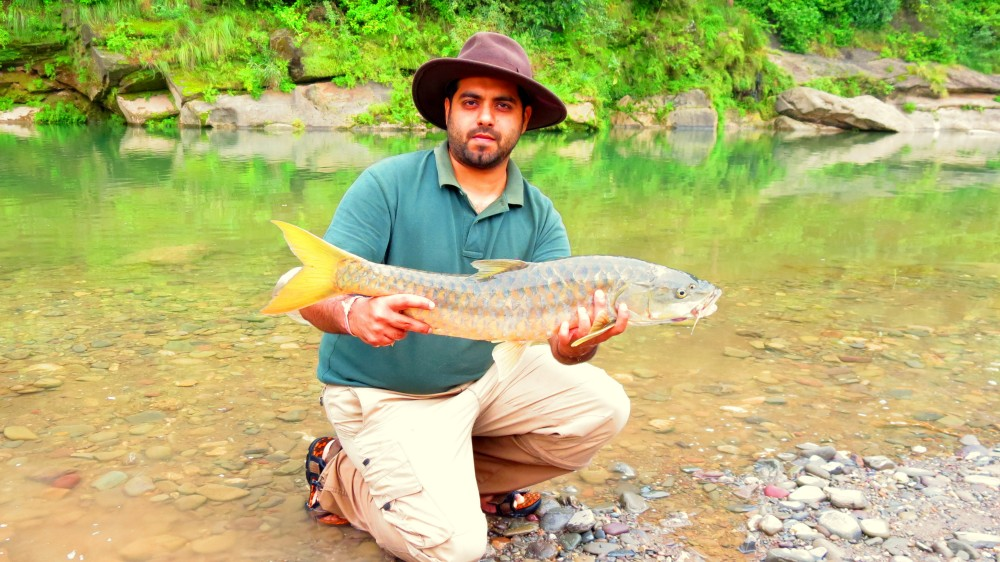 Angling for Mahseer with Himalayan Outfitter