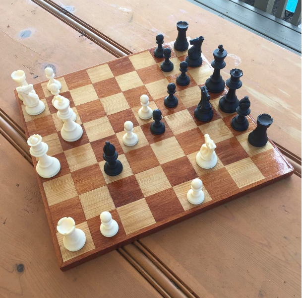 Handmade Wood Chessboard