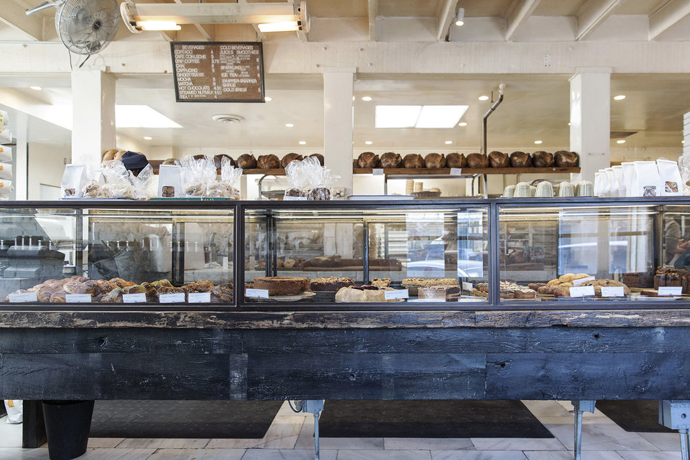 The counter at the Gjusta Bakery in Los Angeles by Rebecca Stumpf Colorado Denver Boulder Editorial and Commercial Lifestyle Food Photographer