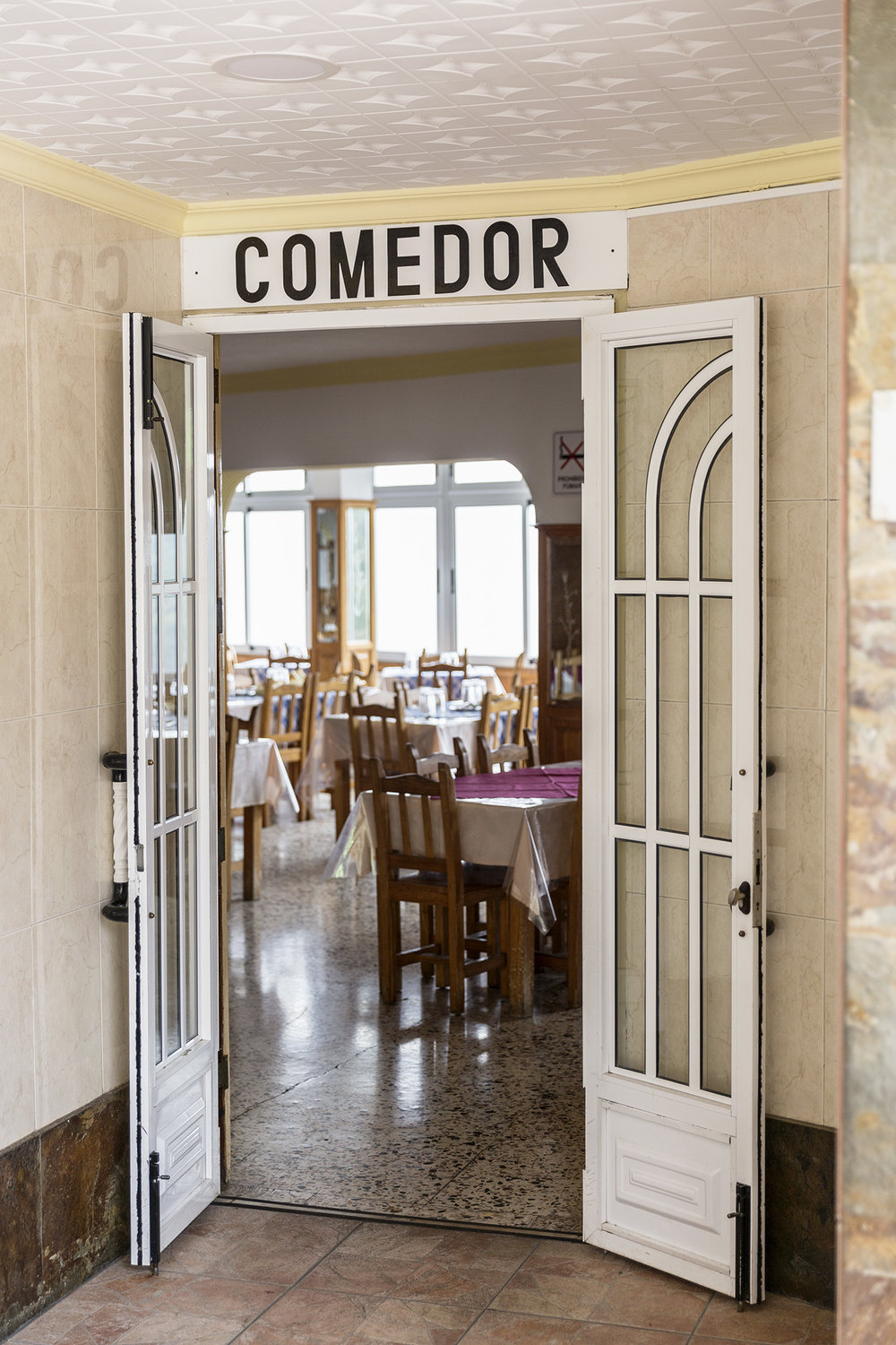 A comedor along the highway in the Canary Islands by Rebecca Stumpf, Denver Boulder Colorado Editorial and Commercial Photographer.