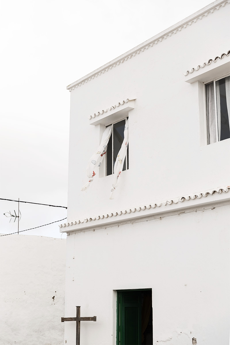 A simple white traditional house in Lanzarote, Canary Islands by RebeccaStumpf.Food.Travel.Lifestyle.Denver.Boulder.Colorado.Photographer