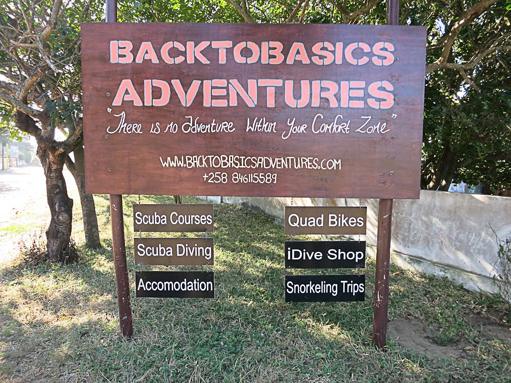 Back to Bascis Adventures entrance