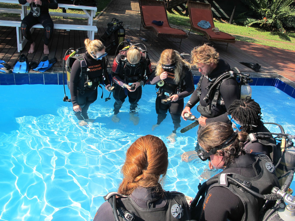 PADI courses Mozambique