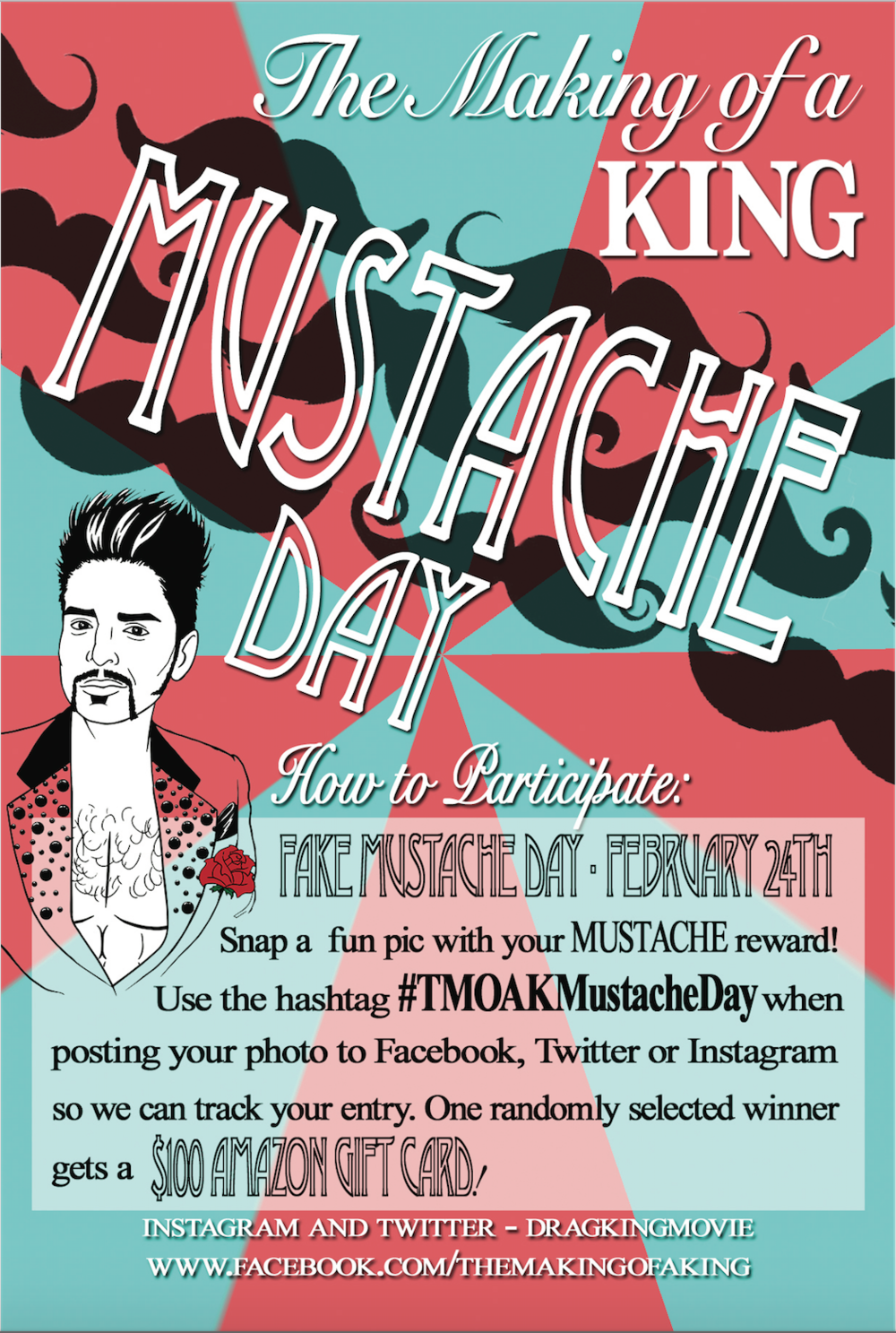 The Making of a King fundraiser flier