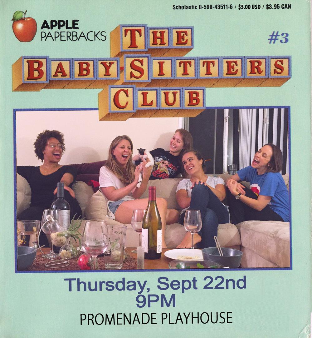 Babysitter's Club show poster