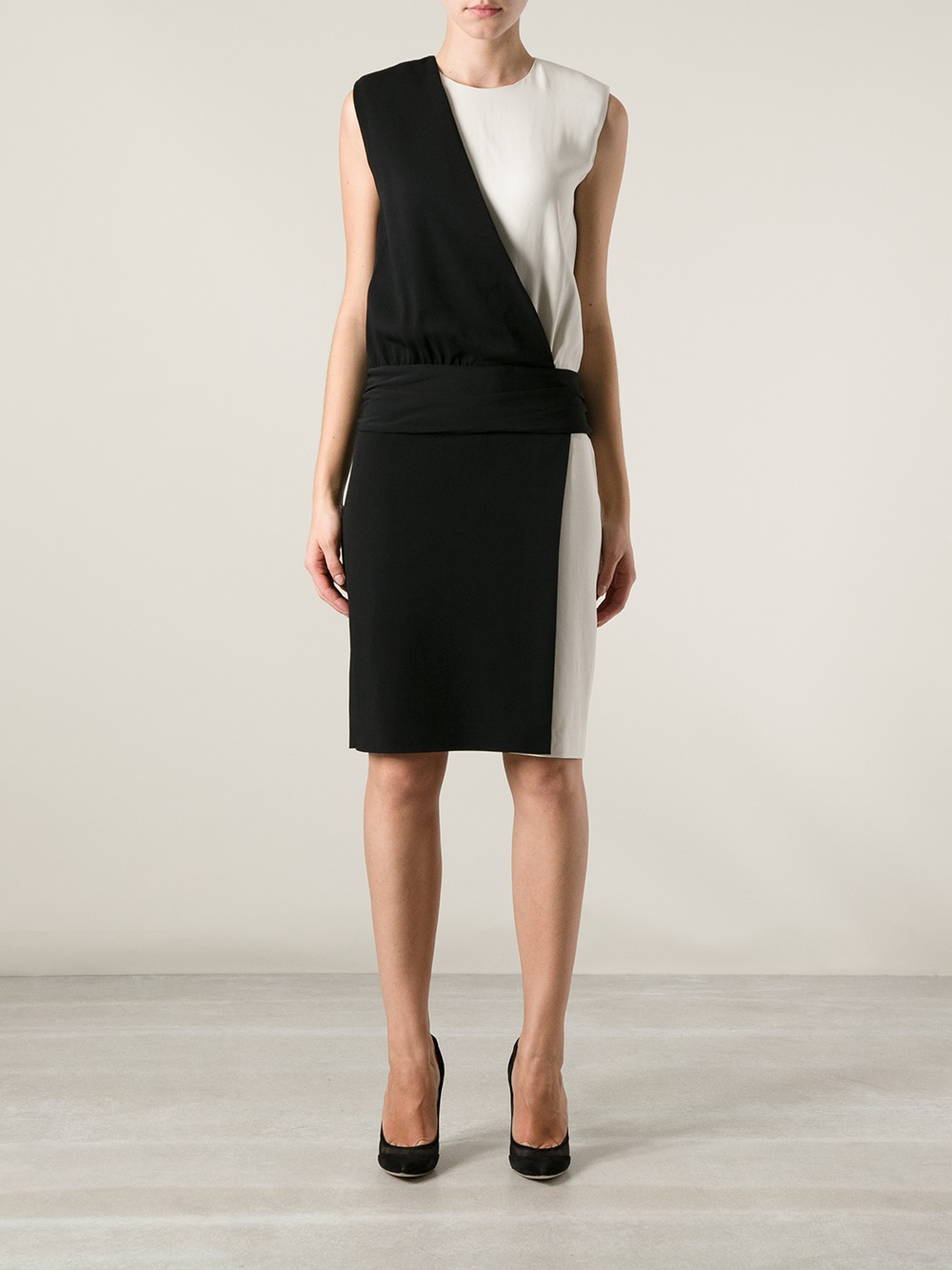 Iceberg Sleeveless Dress - Stefania Mode - Farfetch.com_files.jpg