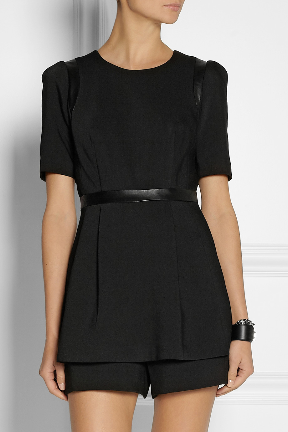 Milly   Leather-trimmed twill playsuit   NET-A-PORTER.COM_files.jpg