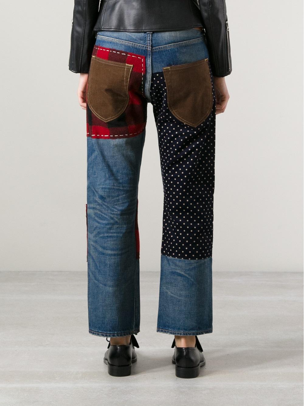 Junya Watanabe Comme Des Garçons Patchwork Jeans - Bernardelli - Farfetch.com_files.jpg