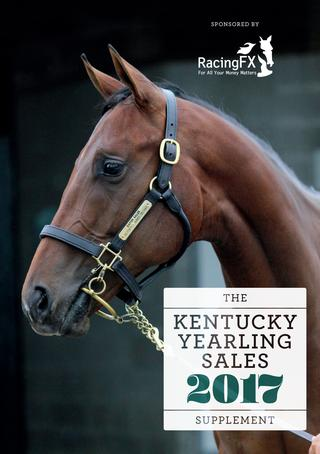 KENTUCKY YEARLING SALES SUPPLEMENT 2017 -