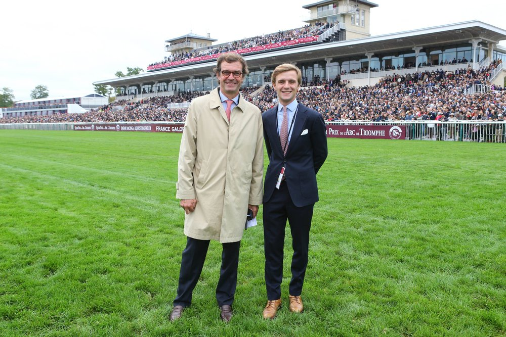 Matthieu Vincent, Trainer Centre and Racecourse Director and Marin Le Cour Grandmaison, Assistant to the Director, have the responsibility of managing the racecourse and training grounds.