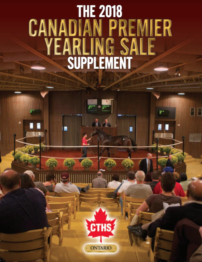 The 2018 Canadian Premier Yearling Sale Supplement -