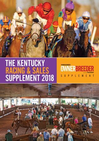 The Kentucky Racing & Sales Supplement 2018 -